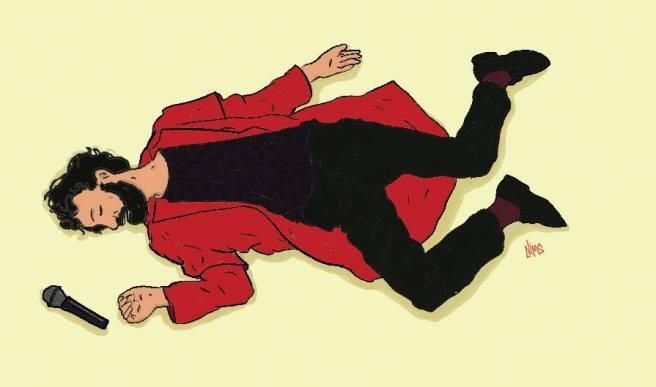 טוניק קלוניק השקת האלבום הביתה כבר - איור של נמרוד פרידמן